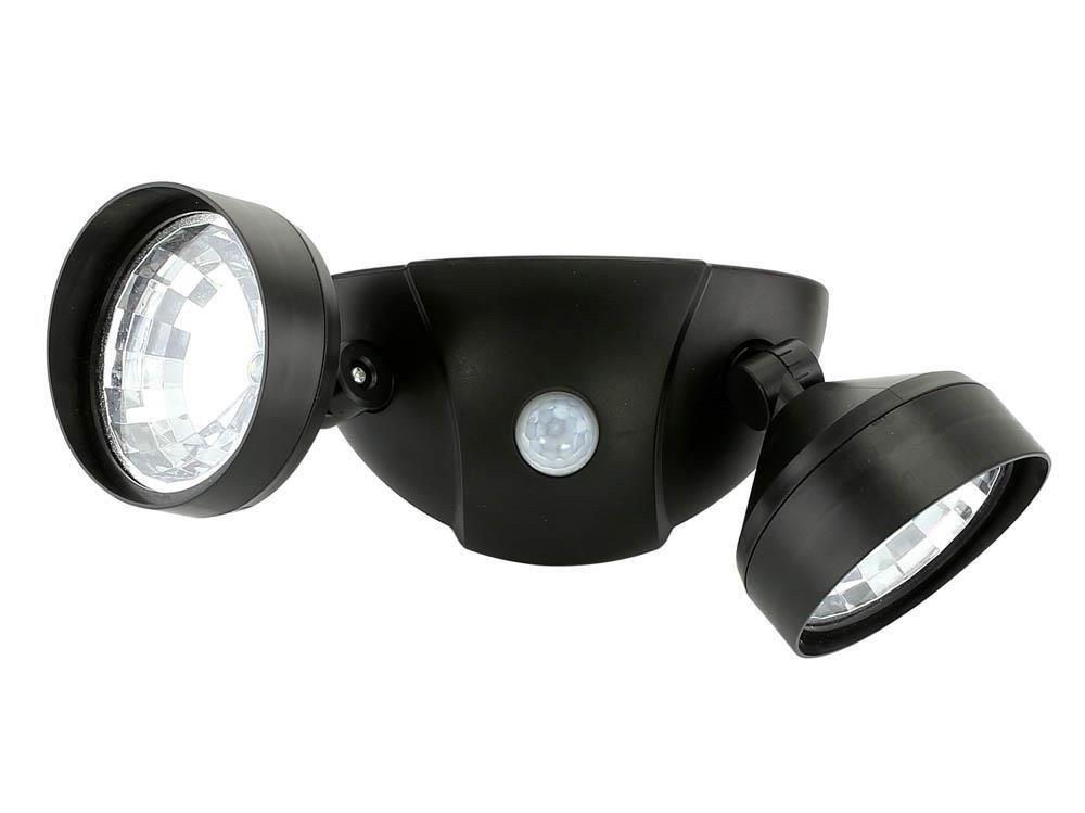 Smart Living Motion Sensor Porch Light, Led Dual Safety Modern Garage Security Porch Light