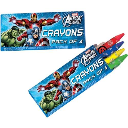 Avengers Crayons