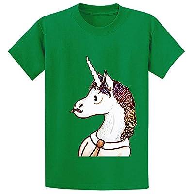 Snowl Doctor Unicorn Kid's Crew Neck Short Sleeve T-shirt