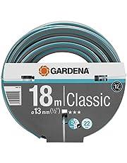 "Aanbieding GARDENA Classic slang 13 mm (1/2"") 18 m: Universele kruisgeweven tuinslang, 22 bar barstdruk, uv-bestendig, zonder Original GARDENA System onderdelen (18001-20)"