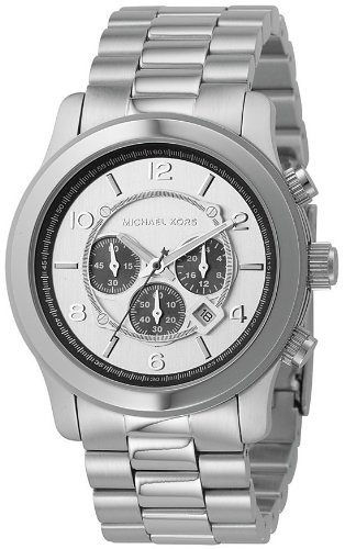MICHAEL Michael Kors Men's White Dial Watch # - For Kors Him Michael
