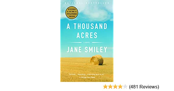 A Thousand Acres Novel