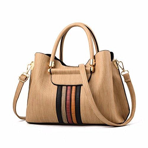 Gaoqiangfeng New Shoulder Bag European And American Style Khaki Gules