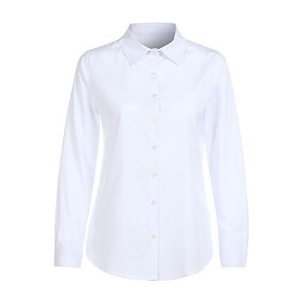 cd491b6353ea Mujer camisa otoño,Sonnena ❤ Camisa de manga larga para mujer ...