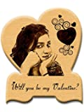Incredible Gifts India Personalized Valentine'S Day Gift - Engraved For Life In Your Heart