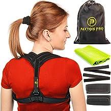 Payton Pro Posture Corrector for Women and Men | Upper Back Brace for Posture Correction provide Better Posture | Posture Corrector and Posture Brace | Shoulder Brace Universal | Posture Support | By