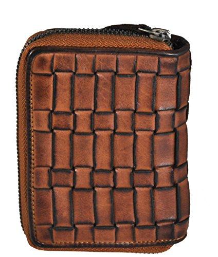 Jockey Club Portamonete, cognac (marrone) - 8462