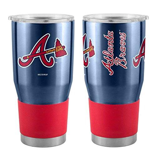 Boelter MLB Atlanta Braves 30 oz. Ultra Tumbler MLB Atlanta Braves, Black, Small