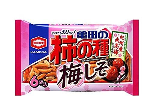 Taneume shiso 6 bagged 182gX6 bags of Kameda Seika Kameda of persimmon
