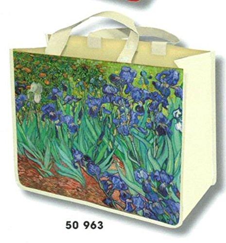 Amazon.com: Francés de la compra bolso de mano pintura la ...