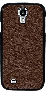Funda para Samsung Galaxy S4 (GT-I9500/GT-I9505) - Cuero Marrón