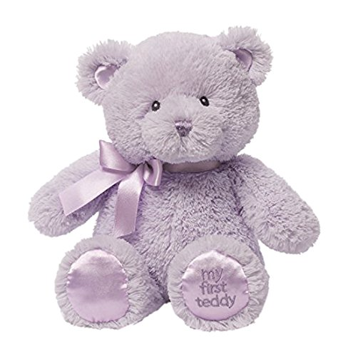 Gund My First Teddy Bear Baby Stuffed Animal, 10 inches (Discontinued by Manufacturer)