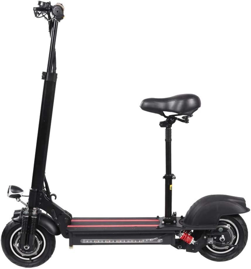 大人用電動スクーター電動自転車、折りたたみ電動自転車アルミニウム折りたたみEBike、36Vリチウムイオンバッテリー電動自転車ギフト (Color : 黒) 黒