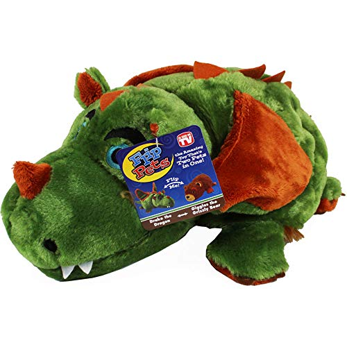 - Flip Pets The amazing toy thats two pets in one For everyone! (Dragon/Grizzly Bear)