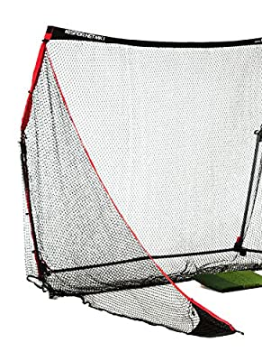 Rukket SPDR Golf Net (10 x 7) Professional Self-Contained Portable Driving Range w/ Tri Turf Mat (Lifetime Warranty)