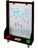 Little Partners Art Easel - Dark Cherry: Learning Tower Add-On Chalk Board & Paint Easel - Transform Your Learning Tower into a Fun Art Station - For Use with the Learning Tower (Sold Separately)