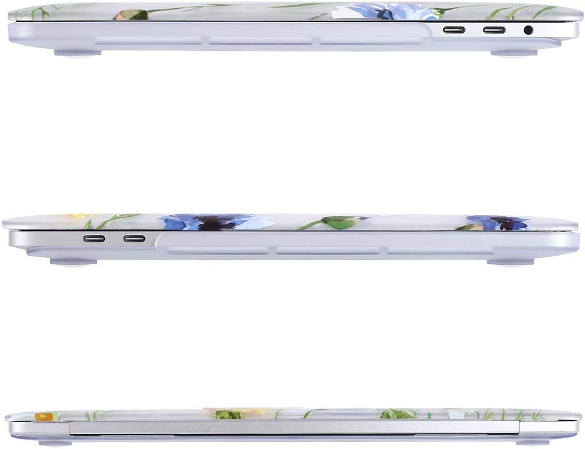 Plastik H/ülle /& Passende Farbe Tastaturschutz /& Displayschutz Kompatibel mit MacBook Pro 13 Zoll Weltkarte Wei/ß Base MOSISO H/ülle Kompatibel mit MacBook Pro 13 A2159//A1989//A1706//A1708 2019-2016