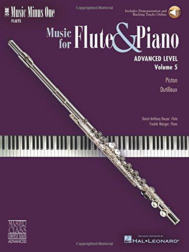 ano - Advanced Level Volume 5: Music Minus One Flute ()