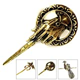 Game Of Thrones Hand Of The King Pin - King Queen Brooch Lapel Badge