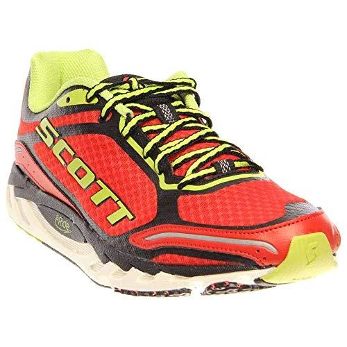 Scott Running Men's Eride AF Trainer 2.0 Mens Running Shoe,Red/Green,12.5 D US