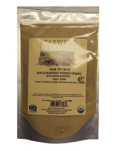 BUPLEURUM ROOT POWDER ORG 4 OZ