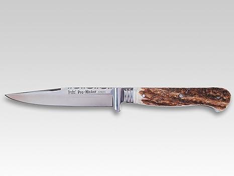 Taschenmesser Jagdmesser mit Hirschhorngriff Gürtelmesser Trachtenmesser 83477
