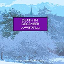 Death in December Audiobook by Victor Gunn Narrated by Gordon Griffin