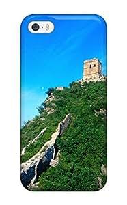 Iphone 5/5s Case Bumper Tpu Skin Cover For Locations Great Wall Of China Accessories WANGJING JINDA