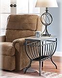 Signature Design by Ashley Antigo Slate Chair Side End Table
