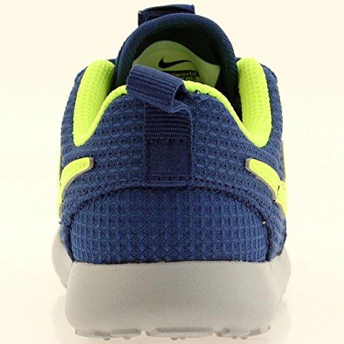 Nike - Zapatillas de running Roshe Run Gym Blue/Volt-Wolf Grey