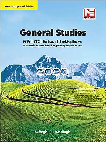 General Studies - 2020 for UPSC, SSC, Railways