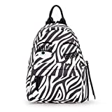 Chiara Ferragni Collection Women's Chiara Ferragni Flirting Vegan Zebra Leather Backpack Animalprint