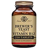 Cheap Solgar – Brewer's Yeast 7 1/2 Grains with Vitamin B12, 250 Tablets