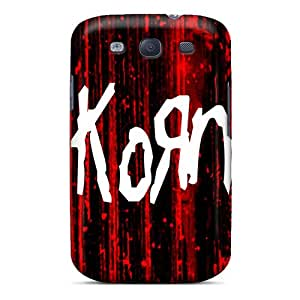 Samsung Galaxy S3 PPO3641gaFU Customized High Resolution Korn Pattern Protective Hard Phone Cases -Marycase88