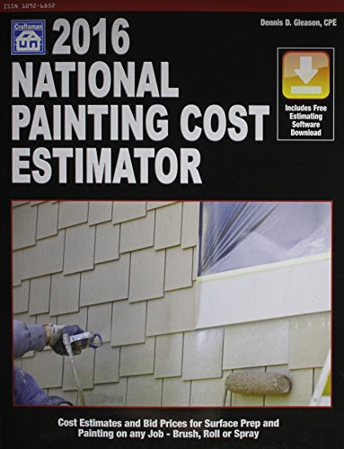 National Painting Cost Estimator 2016 by Craftsman Book Co