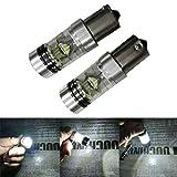 1156 hid bulb - Allywit 2X1156 6500K 100W 20LED HID White 2323 Fog Driving DRL Light Bulbs