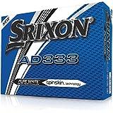 Srixon AD333 Golfbälle - Modell 2018 - Weiß - 1 Dutzend