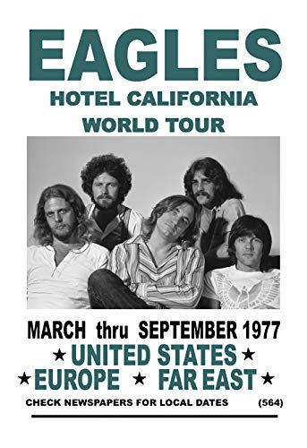 hotel california eagles poster - 2