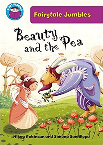 Book Beauty & the Pea (Start Reading: Fairytale Jumbles) by Hilary Robinson (2013-02-14)