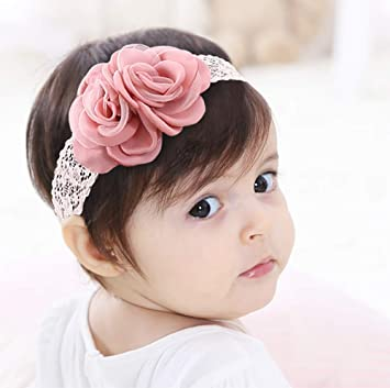 Lovely Lace Flower Baby Girl Toddler Headband Hair Band Headwear Accessories New