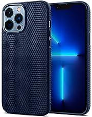 Spigen Compatible for iPhone 13 Pro Max Case Liquid Air - Navy Blue