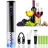 Mosskic Electric Wine Opener, Stainless Steel
