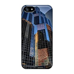 Series Skin Case Cover For Iphone 5/5s(chicago City Reflex)