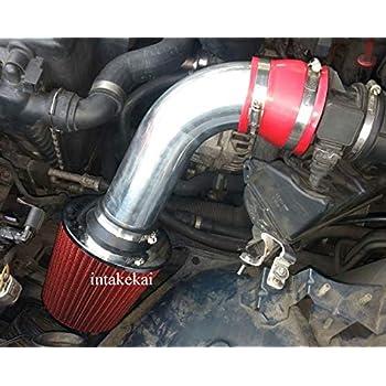 Sport Air Intake Sytem Red Dry Filter For 01-03 BMW 525i 530i 2.5L 3.0L E39