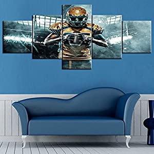 NFL American Footall Painting on Canvas 5 piece