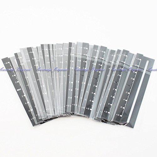 FidgetGear NEW 20/LOT BLACK PITCH ORNAMENT DECAL TRIM DISPLAY 1200 1210 MK2 M3D MK4 MK5 MK6