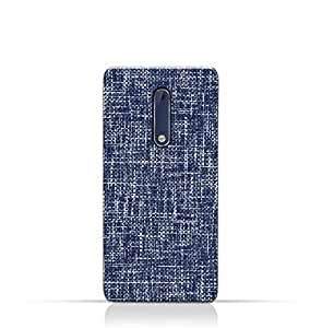 AMC Design Nokia 2 TPU Silicone Case with Brushed Chambray Pattern