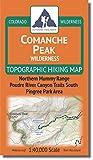Comanche Peak Wilderness - Colorado Topographic Hiking Map (2018)