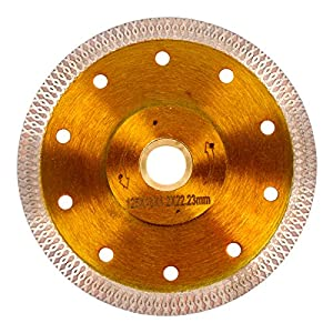 "Super Thin Diamond Ceramic Saw Blade Porcelain Cutting Blade for Cutting Ceramic Or Porcelain Tile (5"")"