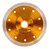 5 Inch Dry/Wet Mesh Rim Tile Saw Circular Saw Blade for Porcelain Tile or Granite